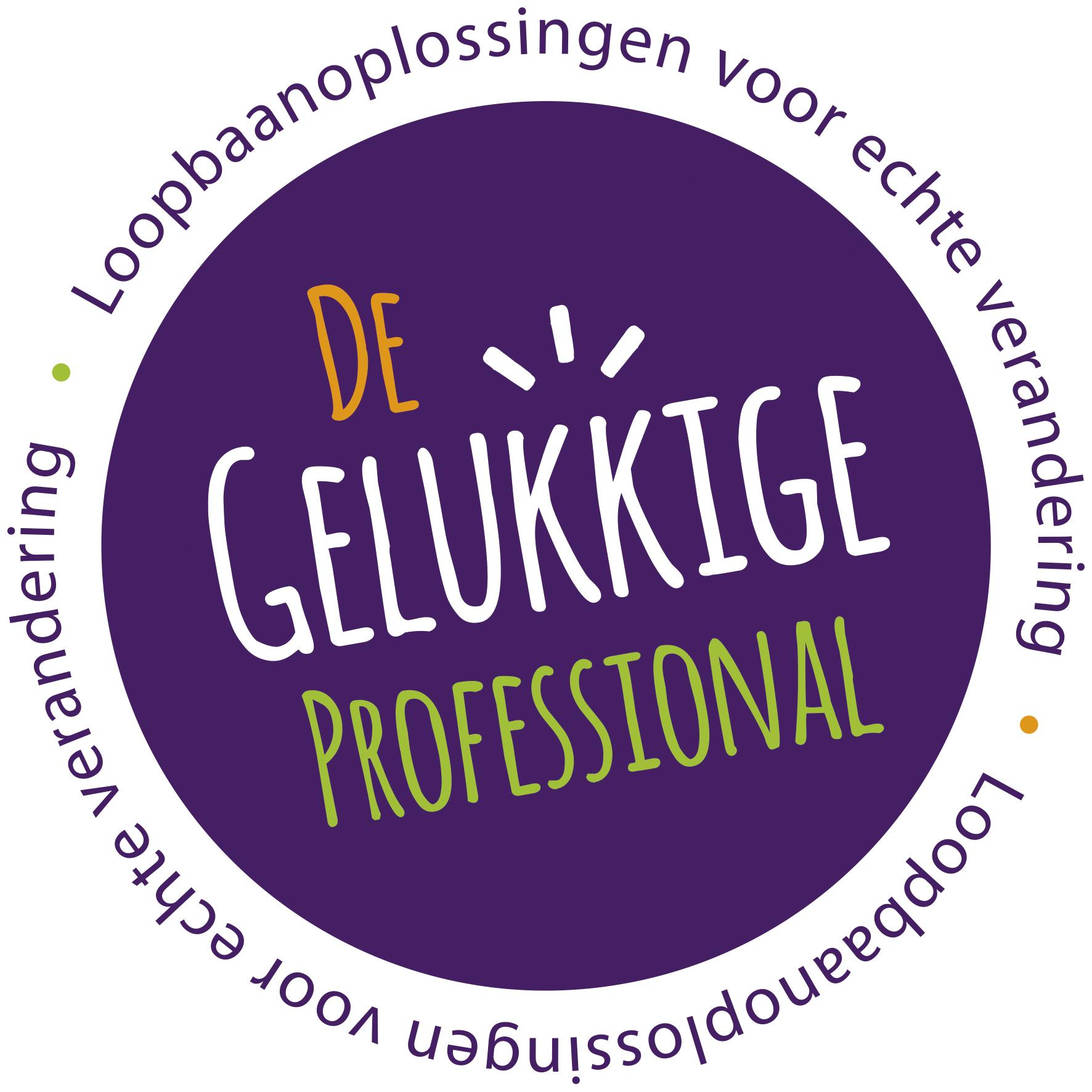 Logo De Gelukkige Professional